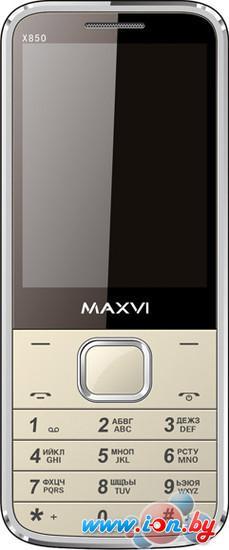 Мобильный телефон Maxvi X850 Gold в Могилёве