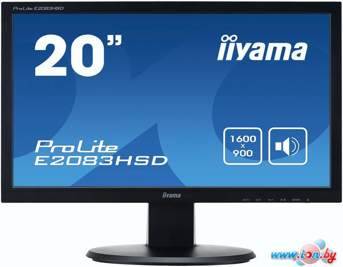 Монитор Iiyama ProLite E2083HSD-B1 в Могилёве