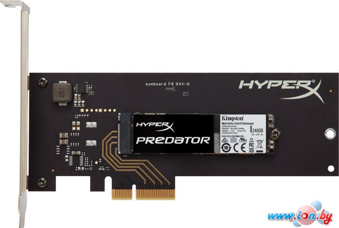 SSD Kingston HyperX Predator 240GB (SHPM2280P2H/240G) в Могилёве
