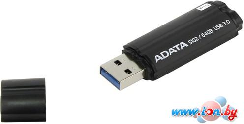 USB Flash A-Data S102 Pro Advanced 64GB Titanium Grey (AS102P-64G-RGY) в Могилёве