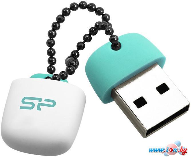 USB Flash Silicon-Power Jewel J07 Aqua Green 16GB (SP016GBUF3J07V1B) в Могилёве