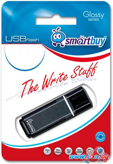 USB Flash Smart Buy Glossy Black 32GB (SB32GBGS-K) в Могилёве