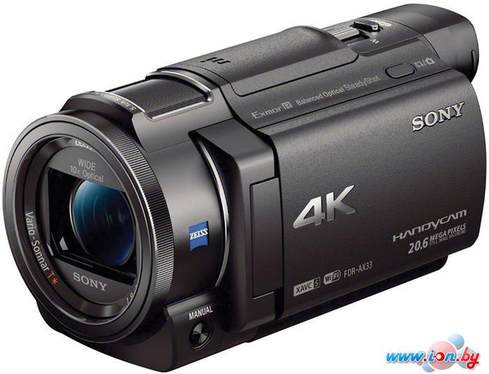 Видеокамера Sony FDR-AX33 в Могилёве