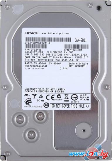 Жесткий диск Hitachi Ultrastar 7K3000 2TB (HUA723020ALA641) в Могилёве