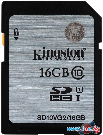 Карта памяти Kingston SHDC (Class 10) 16GB (SD10VG2/16GB) в Могилёве