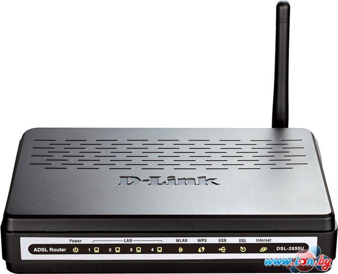 Беспроводной DSL-маршрутизатор D-Link DSL-2650U в Могилёве