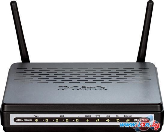 Беспроводной DSL-маршрутизатор D-Link DSL-2750U/NRU/C в Могилёве