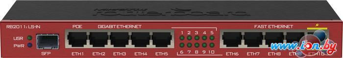 Коммутатор Mikrotik RouterBOARD 2011iLS-IN (RB2011iLS-IN) в Могилёве