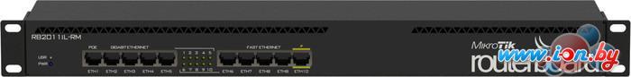 Коммутатор Mikrotik RouterBOARD 2011iL-RM (RB2011iL-RM) в Могилёве