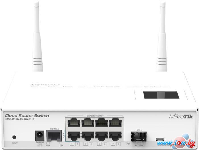 Коммутатор Mikrotik Cloud Router Switch CRS109-8G-1S-2HnD-IN в Могилёве