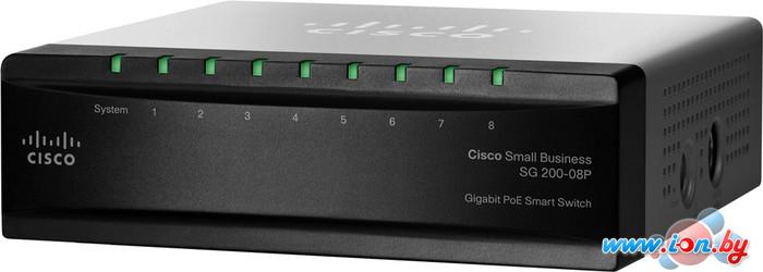Коммутатор Cisco SG 200-08P (SLM2008PT-EU) в Могилёве