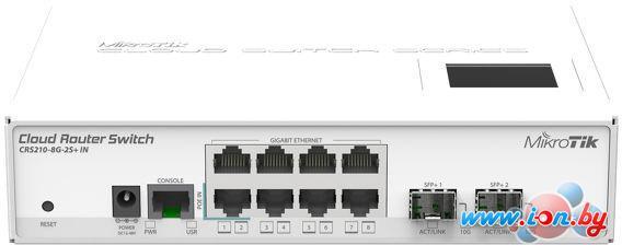 Коммутатор Mikrotik Cloud Router Switch CRS210-8G-2S+IN в Могилёве