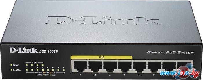 Коммутатор D-Link DGS-1008P в Могилёве