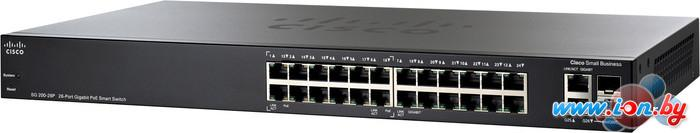 Коммутатор Cisco SG 200-26P (SLM2024PT-EU) в Могилёве