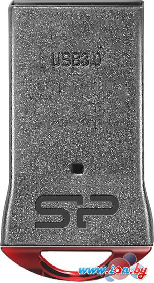 USB Flash Silicon-Power Jewel J01 Silver/Red 8GB (SP008GBUF3J01V1R) в Могилёве