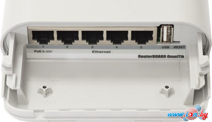 Беспроводной маршрутизатор Mikrotik RouterBoard OmniTik U-5HnD (RBOmniTikU-5HnD) в Могилёве