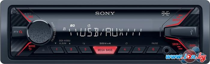 USB-магнитола Sony DSX-A100U в Могилёве