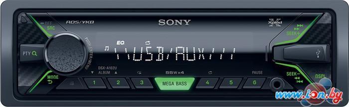USB-магнитола Sony DSX-A102U в Могилёве