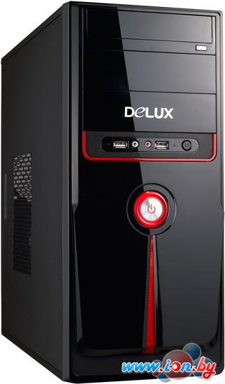 Корпус Delux DLC-MV871 Black/Red 500W в Могилёве