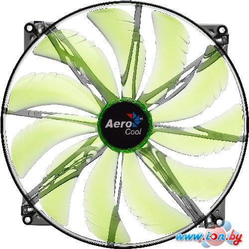 Кулер для корпуса AeroCool Silent Master 200mm Green Led Fan в Могилёве