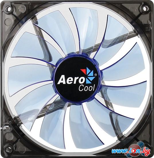 Кулер для корпуса AeroCool Lightning 140mm Blue Led Fan в Могилёве