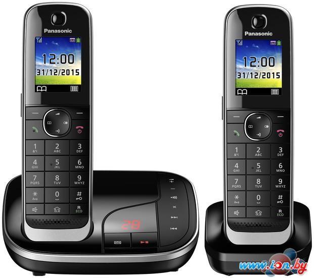 Радиотелефон Panasonic KX-TGJ322RU Black в Могилёве