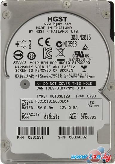 Жесткий диск Hitachi Ultrastar C10K1800 1.2TB [HUC101812CSS204] в Могилёве
