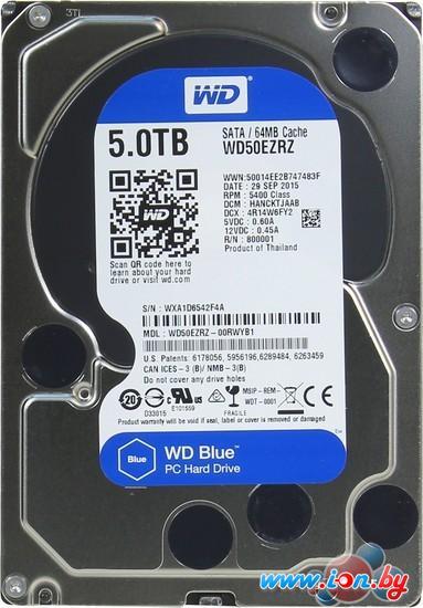 Жесткий диск WD Blue 5TB [WD50EZRZ] в Могилёве
