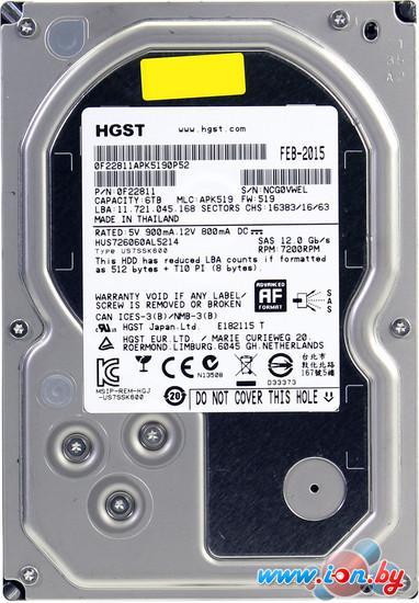 Жесткий диск Hitachi Ultrastar 7K6000 6TB [HUS726060AL5214] в Могилёве