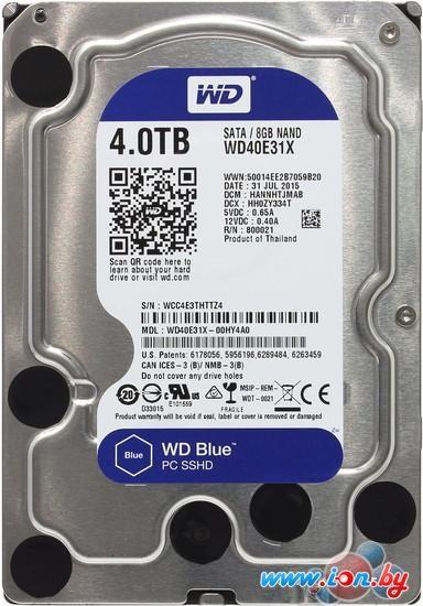 Гибридный жесткий диск WD Blue 4TB [WD40E31X] в Могилёве