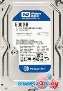 Жесткий диск WD Blue 500GB [WD5000AZLX] в Могилёве