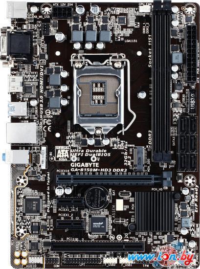 Материнская плата Gigabyte GA-B150M-HD3 DDR3 (rev. 1.0) в Могилёве