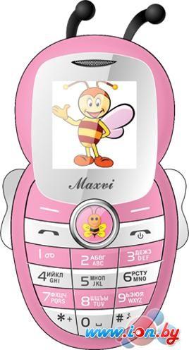 Мобильный телефон Maxvi J8 Pink в Могилёве