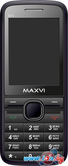 Мобильный телефон Maxvi C11 Black в Могилёве