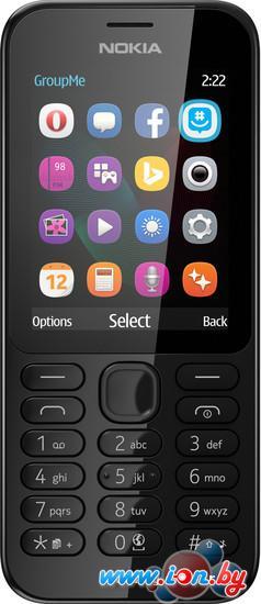 Мобильный телефон Nokia 222 Dual SIM Black в Могилёве