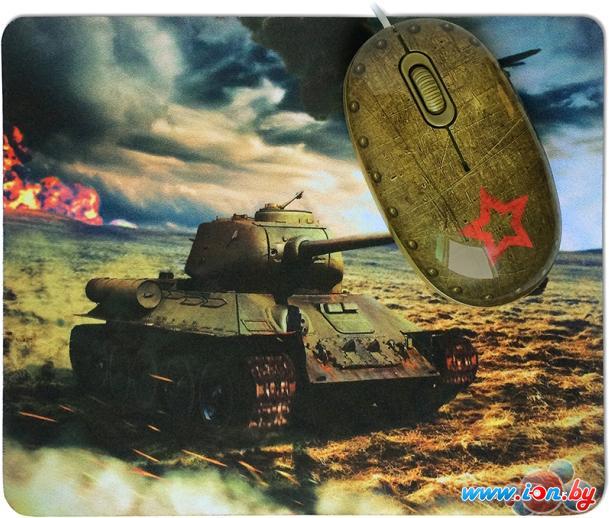Мышь + коврик CBR Tank Battle в Могилёве