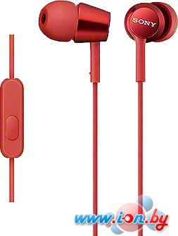 Наушники с микрофоном Sony MDR-EX150AP/R в Могилёве