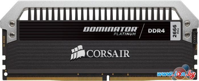 Оперативная память Corsair Dominator Platinum 4x8GB DDR4 PC4-19200 (CMD32GX4M4A2400C14) в Могилёве