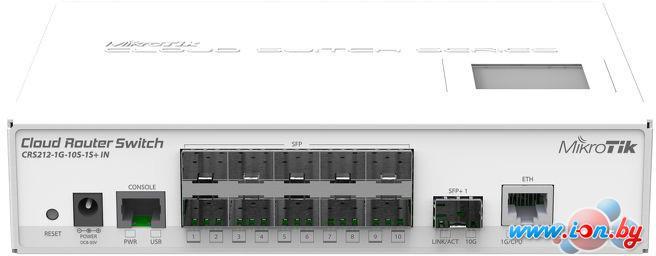 Коммутатор Mikrotik Cloud Router Switch CRS212-1G-10S-1S+IN в Могилёве