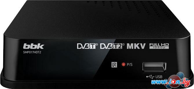 Приемник цифрового ТВ BBK SMP017HDT2 Black в Могилёве
