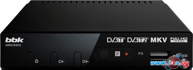 Приемник цифрового ТВ BBK SMP019HDT2 Black в Могилёве