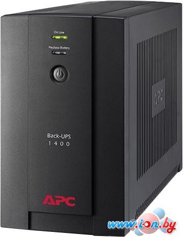 Источник бесперебойного питания APC Back-UPS 1400VA, 230V, AVR, IEC Sockets (BX1400UI) в Могилёве