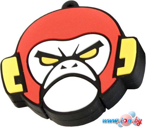 USB Flash Apexto Злая обезьяна бело-красная 16GB (AP-EVILMONKEY-16GB-WR) в Могилёве