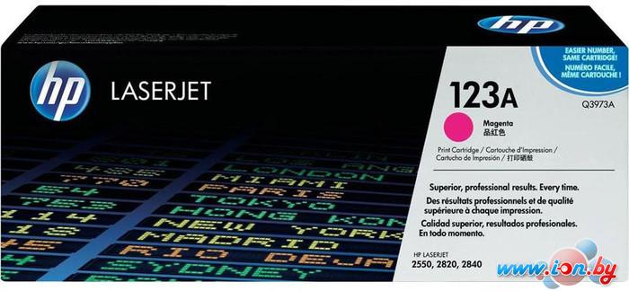 Картридж для принтера HP LaserJet 123A (Q3973A) в Могилёве