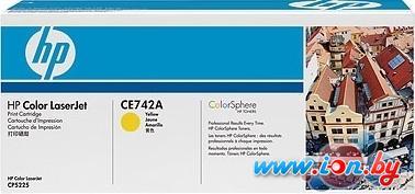 Картридж для принтера HP 307A (CE742A) в Могилёве