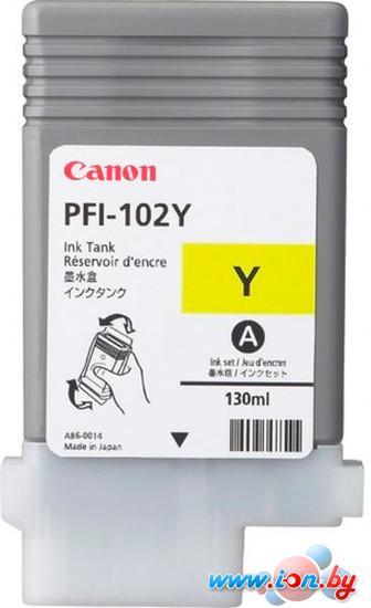 Картридж для принтера Canon PFI-102Y (0898B001AA) в Могилёве