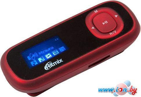 MP3 плеер Ritmix RF-3410 4GB (красный) в Могилёве