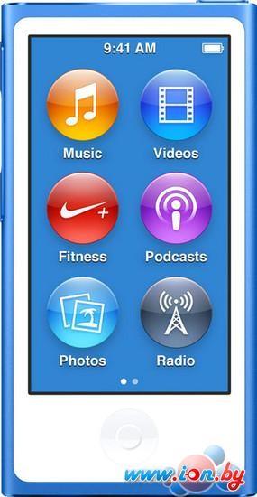 MP3 плеер Apple iPod nano 16GB Blue (7th generation) [MKN02] в Могилёве