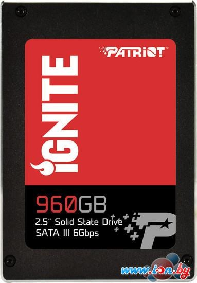 SSD Patriot Ignite 960GB [PI960GS25SSDR] в Могилёве