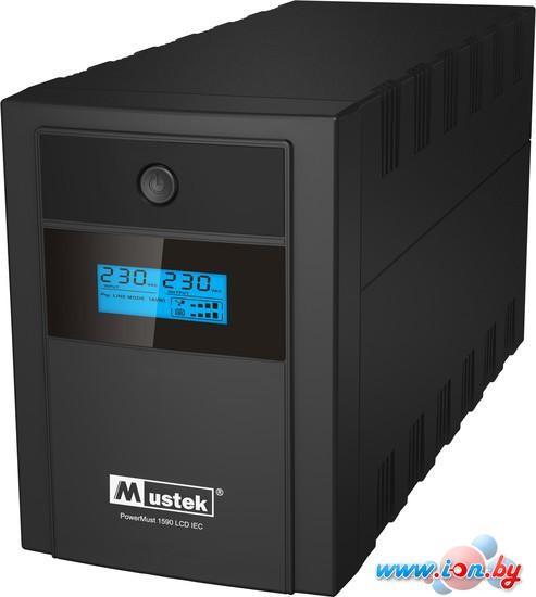 Источник бесперебойного питания Mustek PowerMust 1590 LCD, Line Int., IEC [98-LIC-C1590] в Могилёве